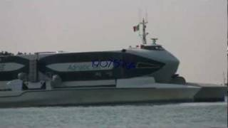 ADRIATIC JET -- New Catamaran in Atlas' Fleet  venice 16/09/2011