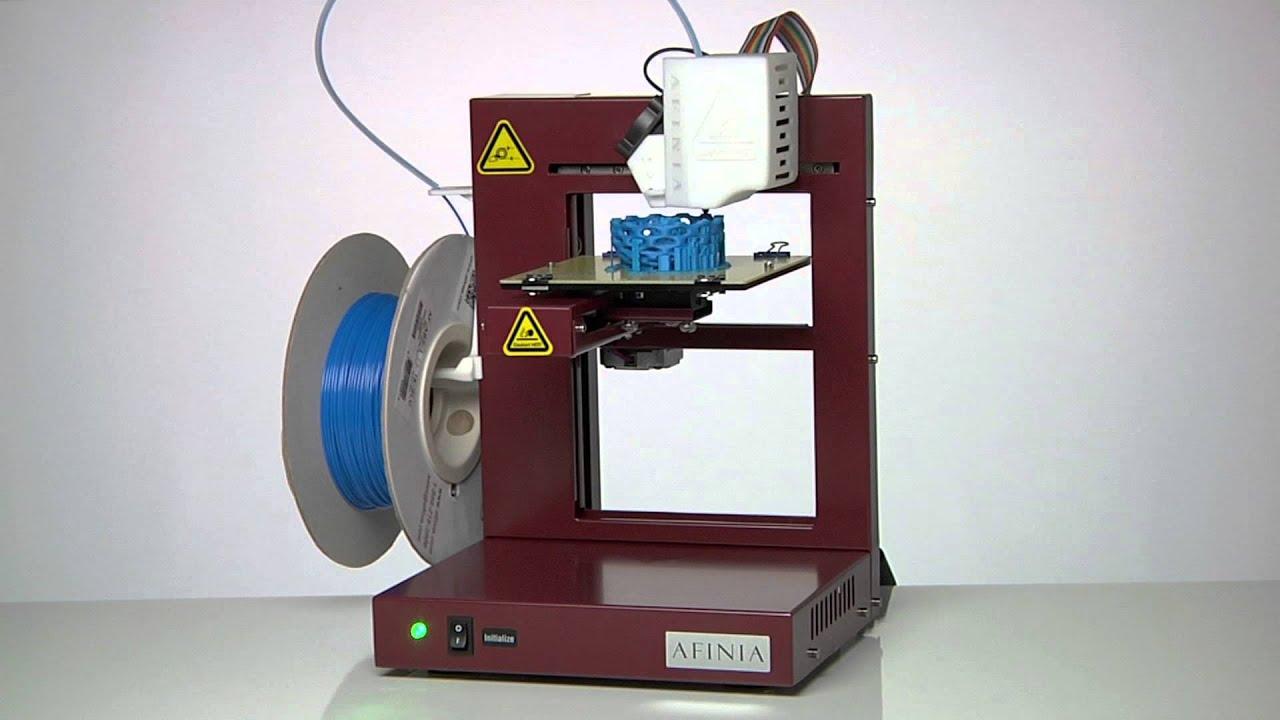 Afinia Time Lapse Klein Bottle H Series 3d Printer Youtube
