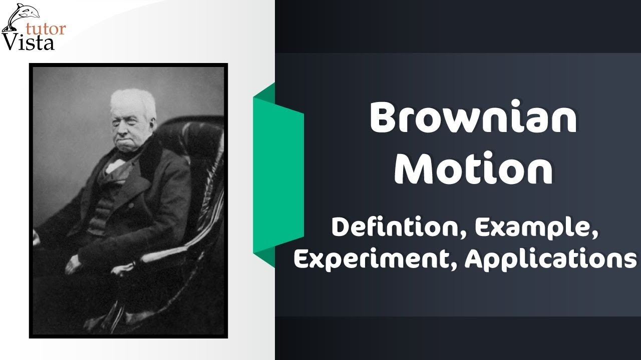 Brownian Motion - Defintion, Example, Experiment, Applications