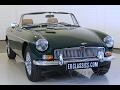MGB Cabriolet 1973 - VIDEO - www.ERclassics.com