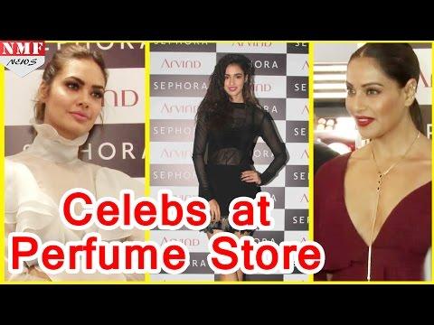 Bipasha Basu, Esha Gupta, Disha Patani At Perfumes Store Launch -uncut