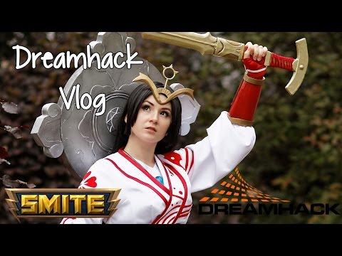 Dreamhack Summer 2016 SMITE cosplay vlog !