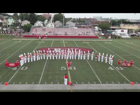 Everett HS Marching Band @ Everett MA Community Night Drum Corps Show - BFDTV