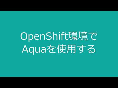 7 Aqua OpenShift