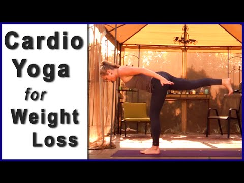 Cardio Yoga Workout   Yoga for Weight Loss