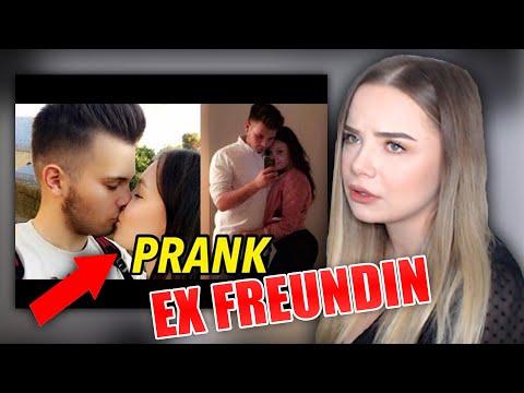 Meine FREUNDIN reagiert auf das Video mit meiner EX-FREUNDIN!