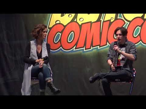 Jared Gilmore Henry Mills & Keegan Connor Tracy Blue Fairy panel at DCC Winter Edition 2017