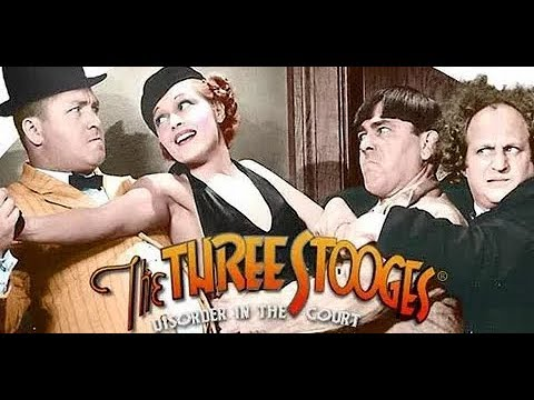 THE THREE STOOGES  Disorder in the Court - 1936 Remastered HD 1080p