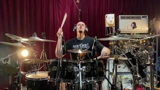 WARBRINGER – Crushed Beneath The Tracks (Drum Playthrough) | Napalm Records