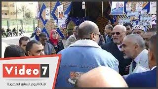بالفيديو.. مشادات بانتخابات