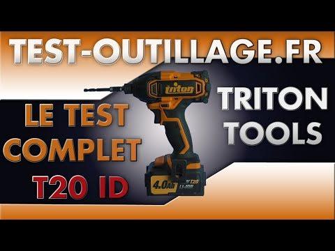 06 - Visseuse à chocs T20 ID TRITON TOOLS TEST COMPLET - 2/2