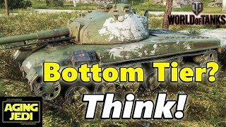 Making a Difference When you're Bottom Tier - Pz 58 Mutz - World of Tanks