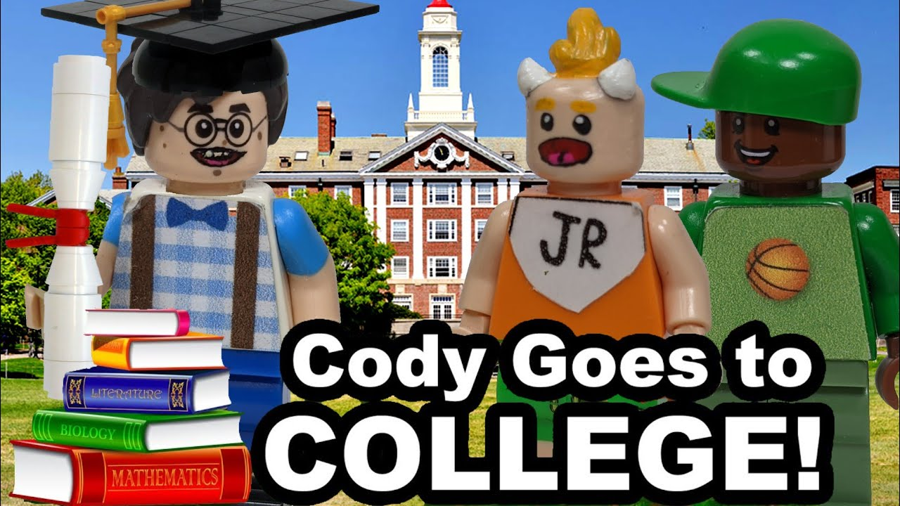 Lego SML: Cody Goes To College!