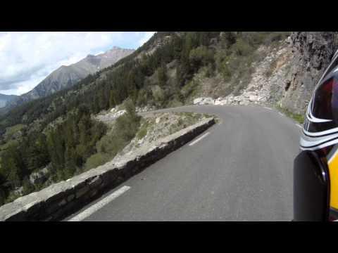 D902 - Col de Vars - The Lonely Motorcyclist