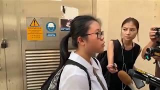 Publication Date: 2019-10-06 | Video Title: 荃灣公立何傳耀紀念中學外中五生中槍聲援・直播