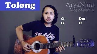 Chord Gampang (Tolong - Budi Doremi) By Arya Nara (Tutorial Gitar) Untuk Pemula