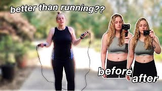 7 DAY JUMP ROPE CHALLENGE (1000 jumps per day) + results