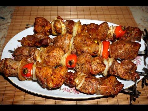 Свиной шашлык в духовке рецепт фото