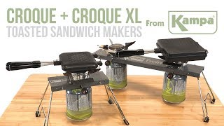 Kampa | Croque & Croque XL Toasted Sandwich Makers | Product Overview