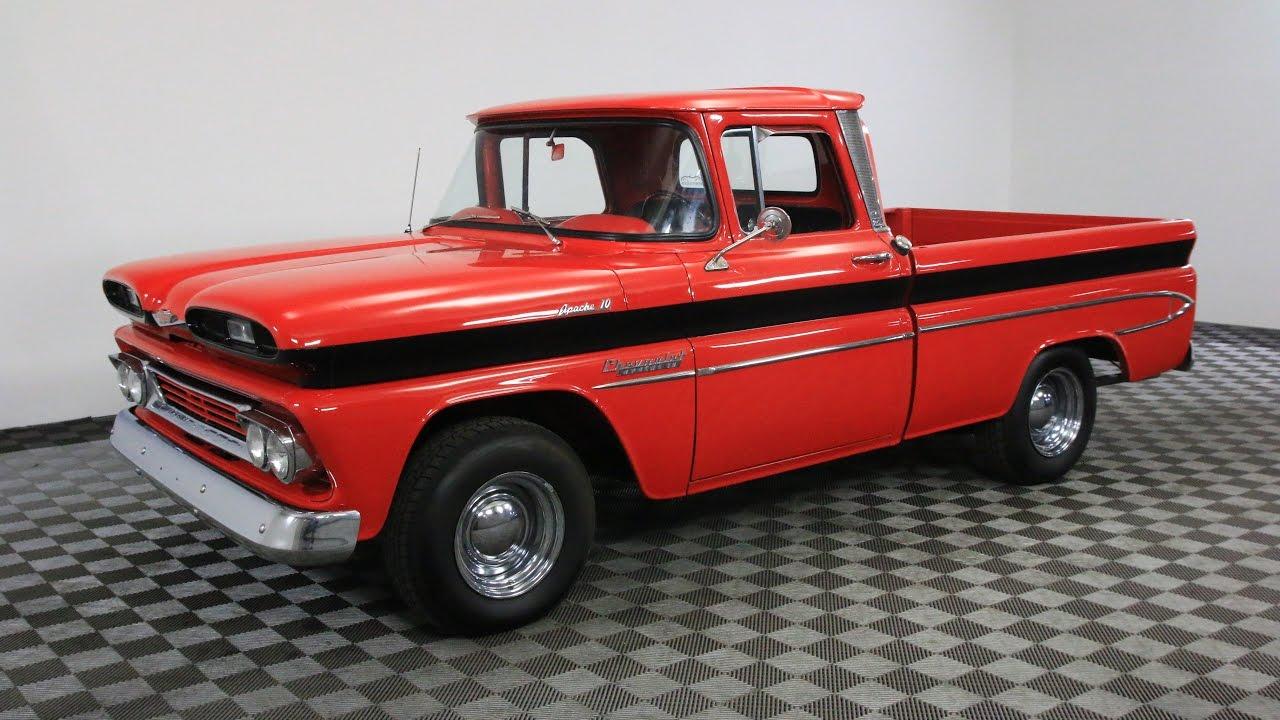 60s Chevy Truck >> 1960 CHEVROLET C10 APACHE CUSTOM - YouTube
