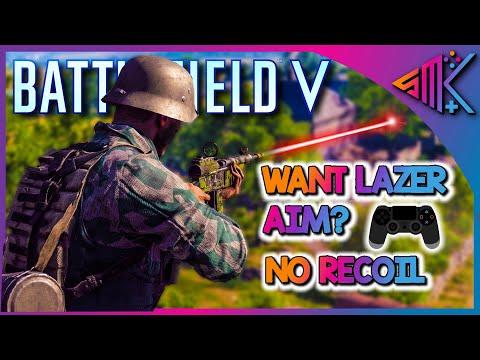 Battlefield V | Want Lazer Aim? | No Recoil | BFV Settings