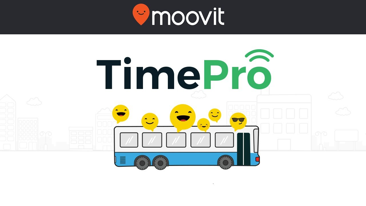 Moovit TimePro introduction