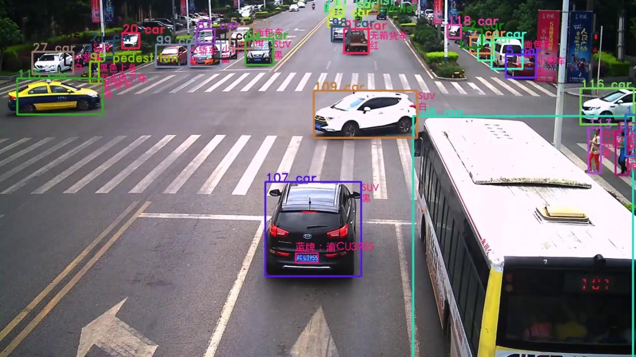 Sysvideo Artificial Intelligent Traffic Video Analysis IP Camera Demo
