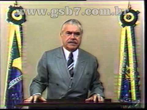 Promulgação da oitava/sétima  constituição do Brasil -  Pres. José Sarney 1988