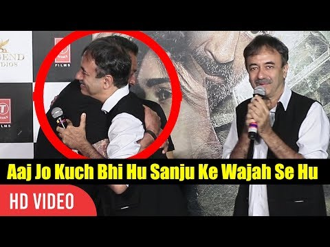 Today What I Am Is Because Of Sanjay Dutt  Rajkumar Hirani About Sanju Baba  Bhoomi  Launch