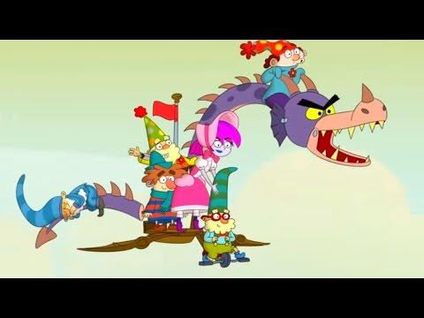 7 гномов - Дракон Грим/ Свободу Крошке - Сезон 1 Серия 12 | Мультфильмы Disney