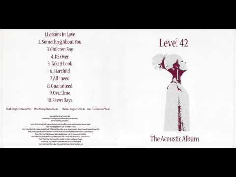 LEVEL 42  - The Acoustic Album