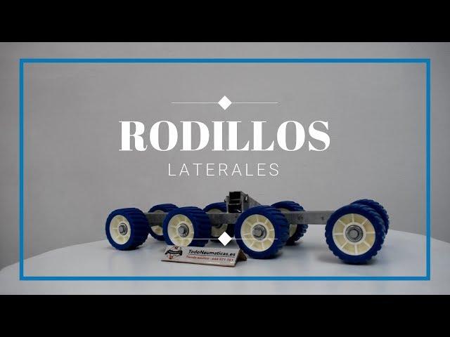 Rodillos laterales - Remolques náuticos