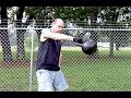 70 LB Kettlebell Exercises for Truckers -- Гимнастика с 32 КГ. Гирей