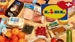 Цены на Продукты в Швейцарии | Супермаркет LIDL | Цюрих Швейцария