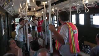 NYC Subway: New York Transit Museum's Coney Island Nostalgia Train