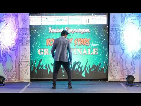 Sunday Bantu Song Welcome Dance: Voice of Stars Juniors Grand Finale