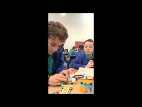 WeDo 2.0 Ysgol Gymraeg Caerffili part 1