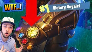 Why are you moving at a faster pace? (FORTNITE INFINITY GAUNTLET)