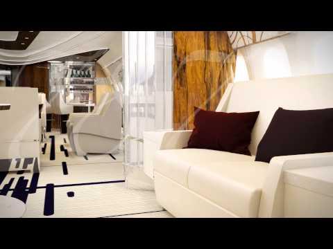 Greenpoint's 787 Azure Interior Flythrough