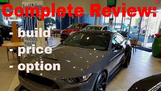 2018 Ford Mustang Shelby GT350R - Build & Price Review Video (had to do it)
