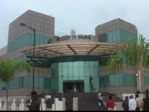 IT Minister visit madurai IT Park.avi