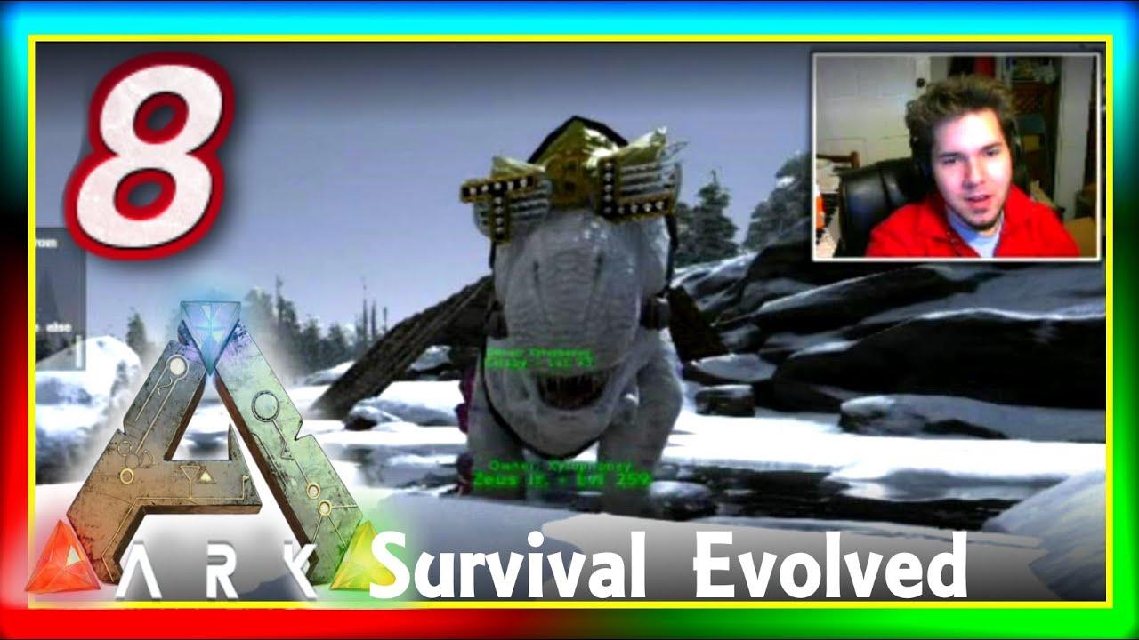 """ARK: Survival Evolved PVP #8: """"T-REX POPSICLE?"""" ( ARK ..."""