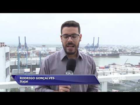 Movimentação nos portos de Itajaí e Navegantes deve cair nos próximos dias