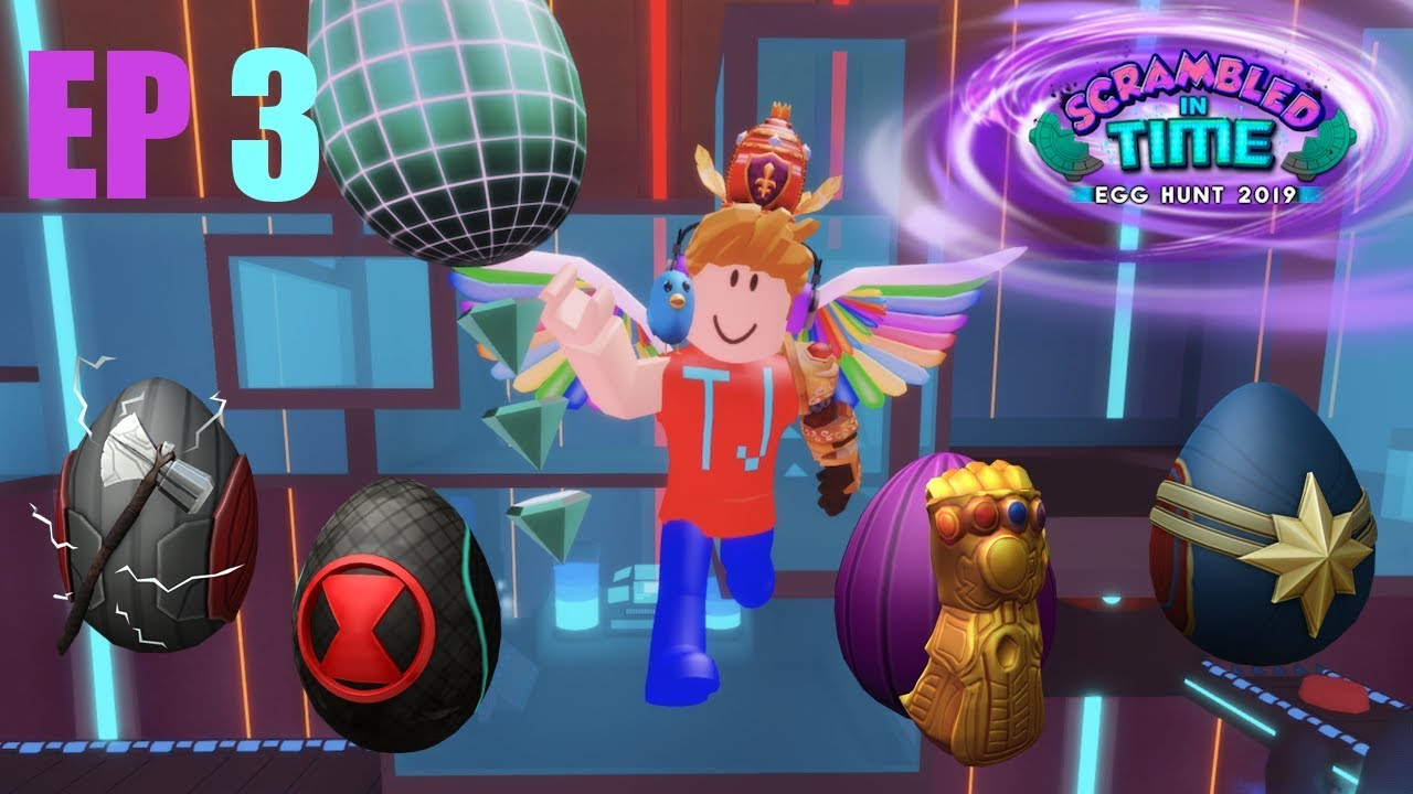 Roblox Egg Hunt 2019 Thanos Egg Episode 3 Youtube