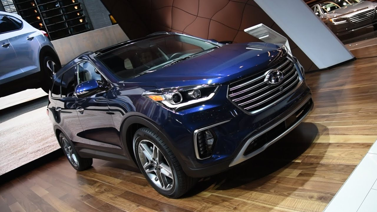 Hyundai Santa Fe Chicago Auto Show YouTube - Hyundai car show