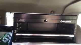 Husky Tool Cabinet Drawer Lock System Explained Review