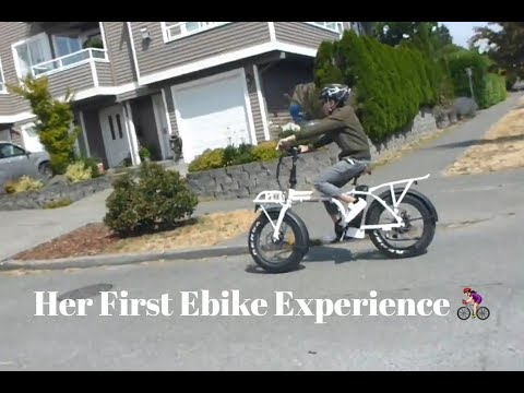 Cousin's First Ebike Experience: FLXBlogger