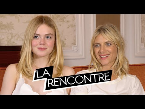 ELLE FANNING & MÉLANIE LAURENT - Interview GALVESTON Mp3