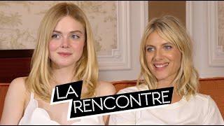ELLE FANNING & MÉLANIE LAURENT - Interview GALVESTON