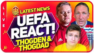 Man Utd Players BACKLASH! European Super League News with Thogden and Thogdad